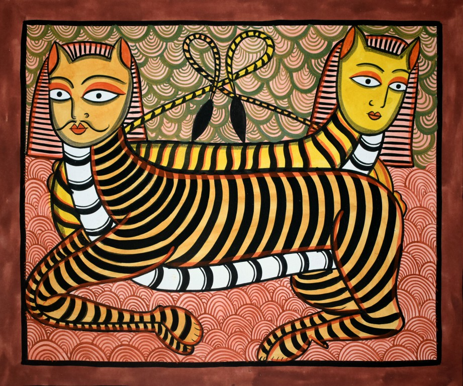 bengal style-03 Size-15.5''x18.5.5'' water colour on paper bhadur chitrakar Rs. 8000