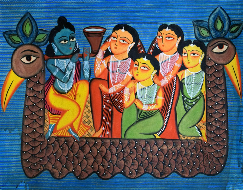 bengal style-38 21''x27'' Rs. 25000 Water colour on paper