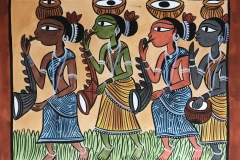 bengal style-23 Size-15.5''x18.5.5'' water colour on paper bhadur chitrakar Rs. 8000