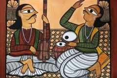 bengal style-29 Size-15.5''x18.5.5'' water colour on paper bhadur chitrakar Rs. 8000