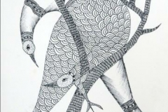 Gond187 pen-on-paper-size-14x11inches--