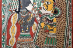 Madhubani 86 Artist- unknown size- 28.5''x21'' price-20000