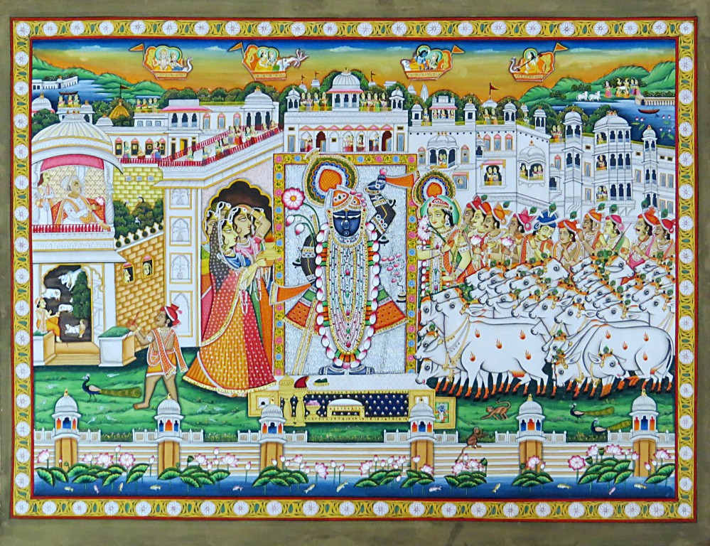 Pichwai-33, Size-20X27in,Rs65000